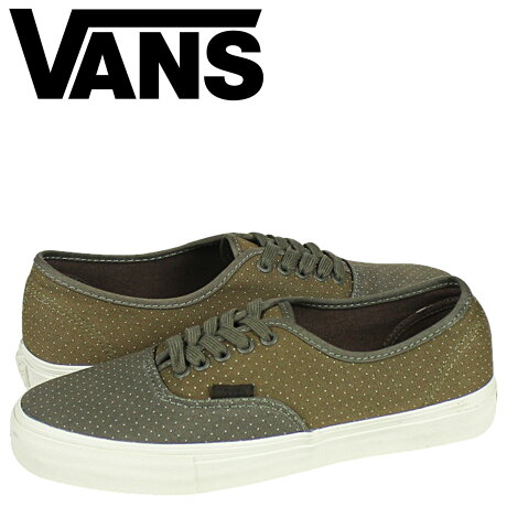 VANS オーセンティック スニーカー メンズ バンズ ヴァンズ VAULT AUTHENTIC LX VN-0SFGB7Z 靴 グリーン