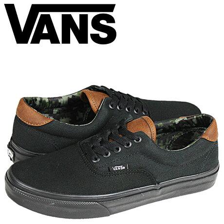 VANS ERA スニーカー レディース メンズ バンズ ヴァンズ エラ 59 C&L VN-0UC6EOY 靴 ブラック
