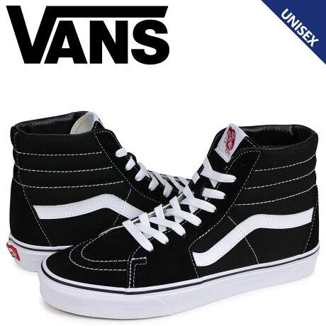VANS ヴァンズ SK8-HI スニーカー メンズ レディース バンズ スケートハイ ブラック 黒 VN000D5IB8C [予約 2月上旬 追加入荷予定]