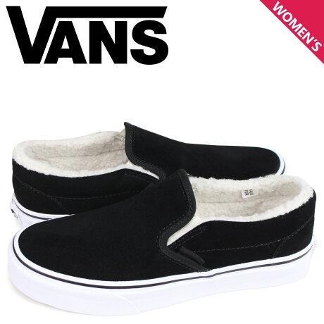 VANS バンズ スニーカー スリッポン クラシック レディース ヴァンズ CLASSIC SLIP-ON ブラック 黒 VN0A33TBNF2 [予約商品 3/26頃入荷予定 新入荷]