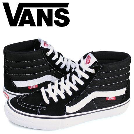VANS ヴァンズ SK8-HI PRO スニーカー メンズ バンズ スケートハイ ブラック 黒 VN000VHGY28 [予約 2月上旬 追加入荷予定]