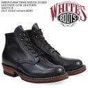 ホワイツブーツ WHITE'S BOOTS セミドレス 5INCH AMERICANA SEMIDRESS BOOTS 2332W Eワイズ メンズ ブラック