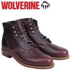 【最大2000円OFFクーポン】 ウルヴァリン WOLVERINE 1000マイル ブーツ 1000MILE ワークブーツ BOOT NO 8 W00137 コードバン メンズ [9/13 追加入荷]