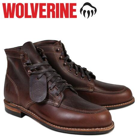ウルヴァリン 1000マイル ブーツ WOLVERINE 1000MILE ワークブーツ COURTLAND BOOT Dワイズ W00278 ブラウン