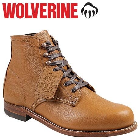 ウルヴァリン 1000マイル ブーツ WOLVERINE ブーツ CENTENNIAL 1000 MILE BOOT Dワイズ W00910 ワークブーツ メンズ