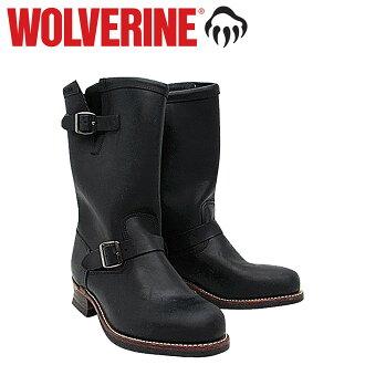 Wolverine WOLVERINE 1000 mile 10 inch Engineer Boots W05295 1000 MILE 10 inch ENGINEER BOOT leather men's Wolverine