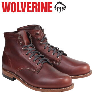 Wolverine WOLVERINE 1000 mile plain toe boots W05299 1000 MILE BOOT ORIGINAL leather men's Wolverine