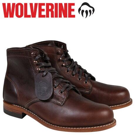 ウルヴァリン 1000マイル ブーツ WOLVERINE 1000MILE BOOT Dワイズ W05301 ブラウン ワークブーツ