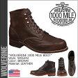 ウルヴァリン WOLVERINE 1000マイル ブーツ ADDISON 1000MILE WINGTIP BOOT Dワイズ W05342 ブラウン ウィングチップ ワークブーツ メンズ [12/24 追加入荷]