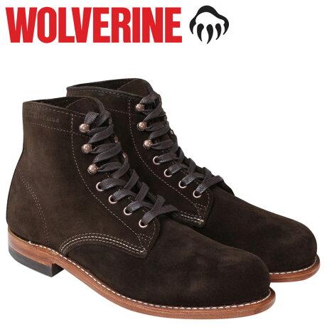 ウルヴァリン 1000マイル ブーツ WOLVERINE 1000MILE ワークブーツ メンズ 1000 MILE BOOT Dワイズ W40093 ダークブラウン