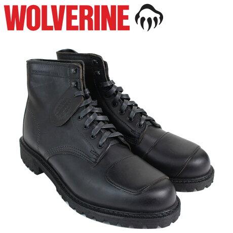 ウルヴァリン 1000マイル WOLVERINE ブーツ メンズ 1000 MILE DYLAN MONO BOOT Dワイズ W40300 ブラック ワークブーツ
