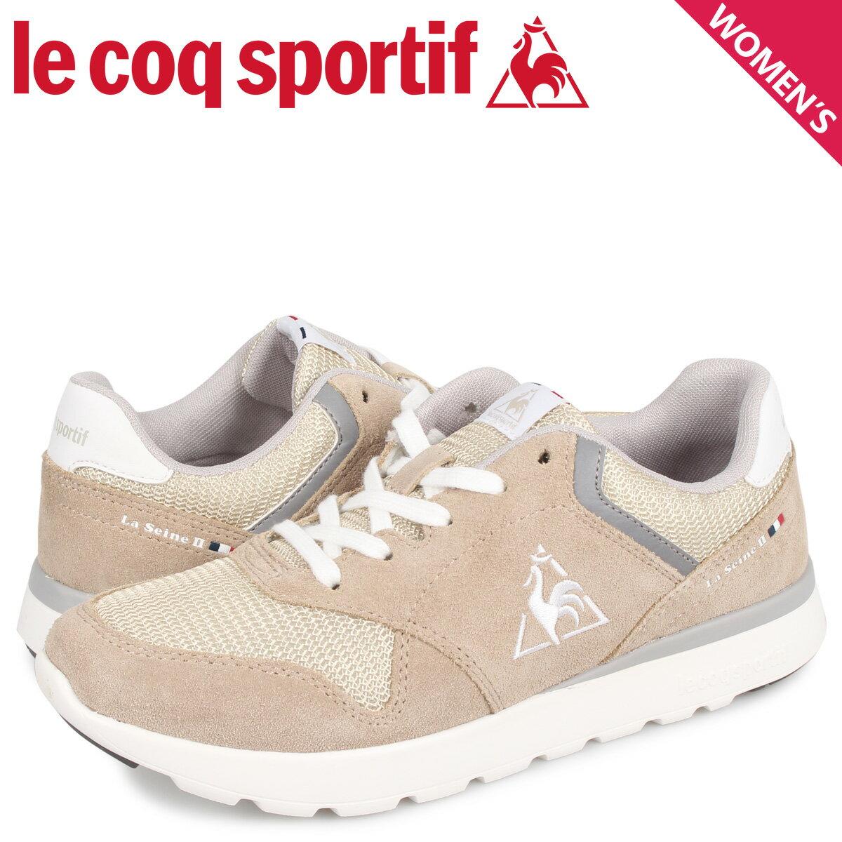 レディース靴, スニーカー 2000OFF le coq sportif LA 2 LA SEINE 2 WIDE QL3PJC00SS 10