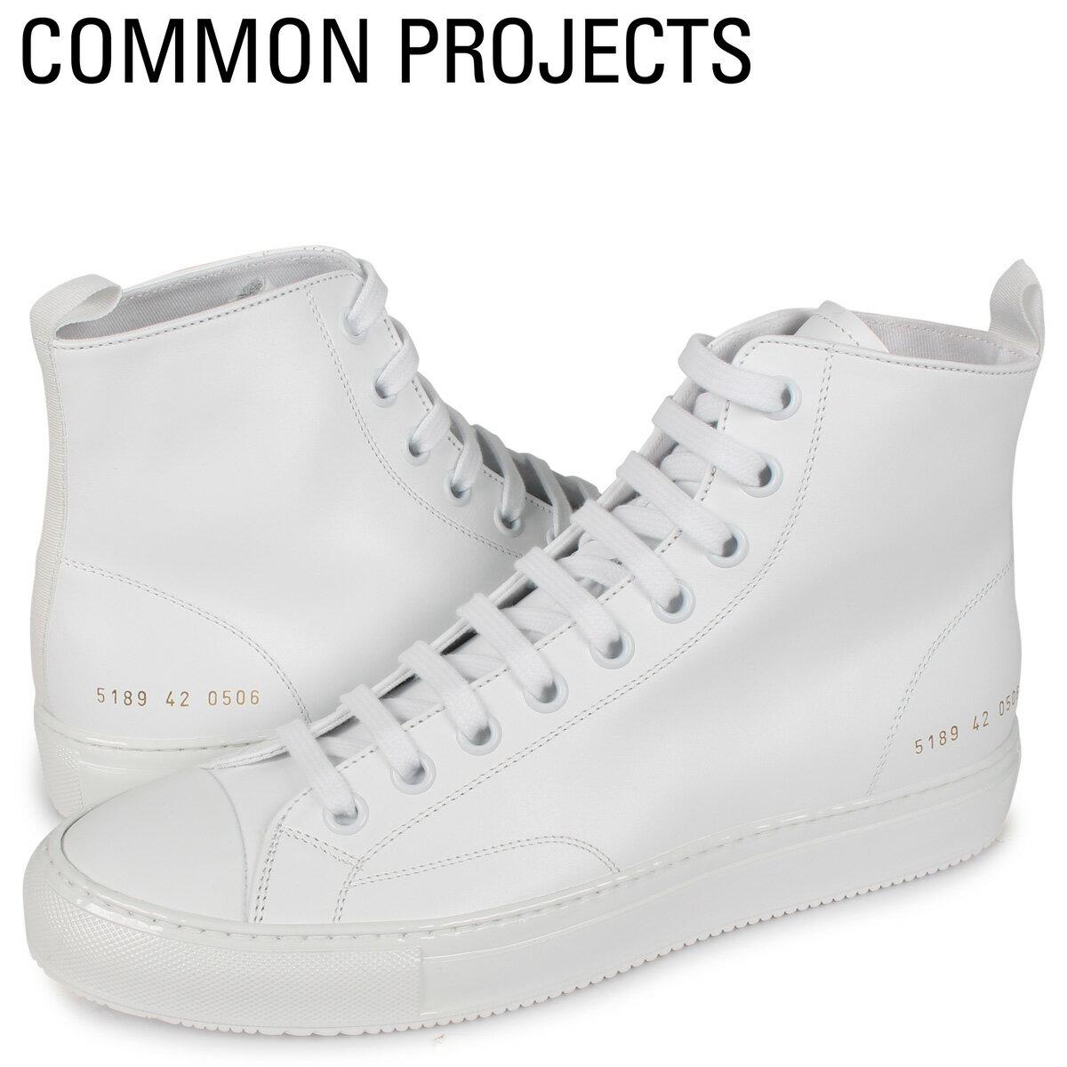 メンズ靴, スニーカー 2000OFF Common Projects TOURNAMENT HIGH IN LEATHER 5189-0506