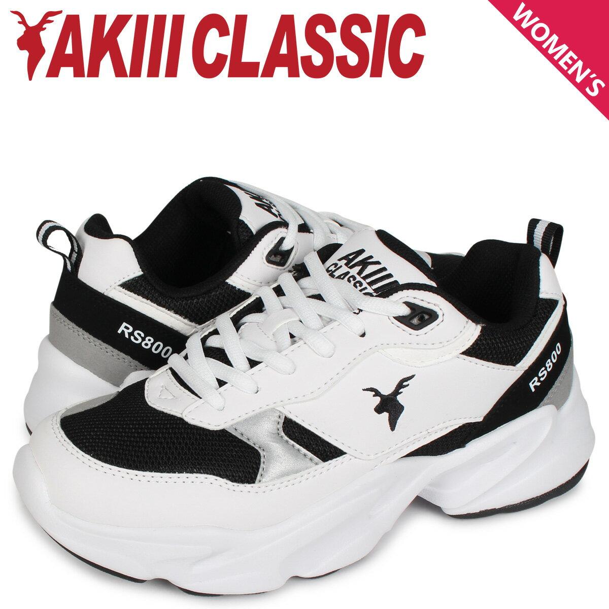 レディース靴, スニーカー 2000OFF AKIII CLASSIC RS800 AKC0002