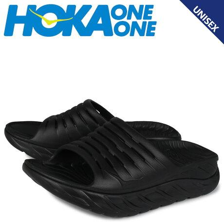 HOKA ONE ONE ホカオネオネ サンダル スライドサンダル オラ リカバリー メンズ レディース 厚底 ORA RECOVERY SLIDE ブラック 黒 1099674 [予約 1月下旬 追加入荷予定]