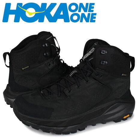 HOKA ONE ONE ホカオネオネ スカイ カハ スニーカー メンズ 防水 SKY KAHA GTX ブラック 黒 1112030 [予約 1月下旬 再入荷予定]