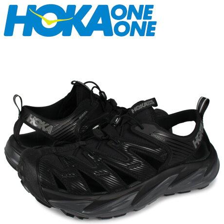 HOKA ONE ONE ホカオネオネ ホパラ サンダル スポーツサンダル メンズ HOPARA ブラック 黒 1106534 [予約 1月下旬 追加入荷予定]