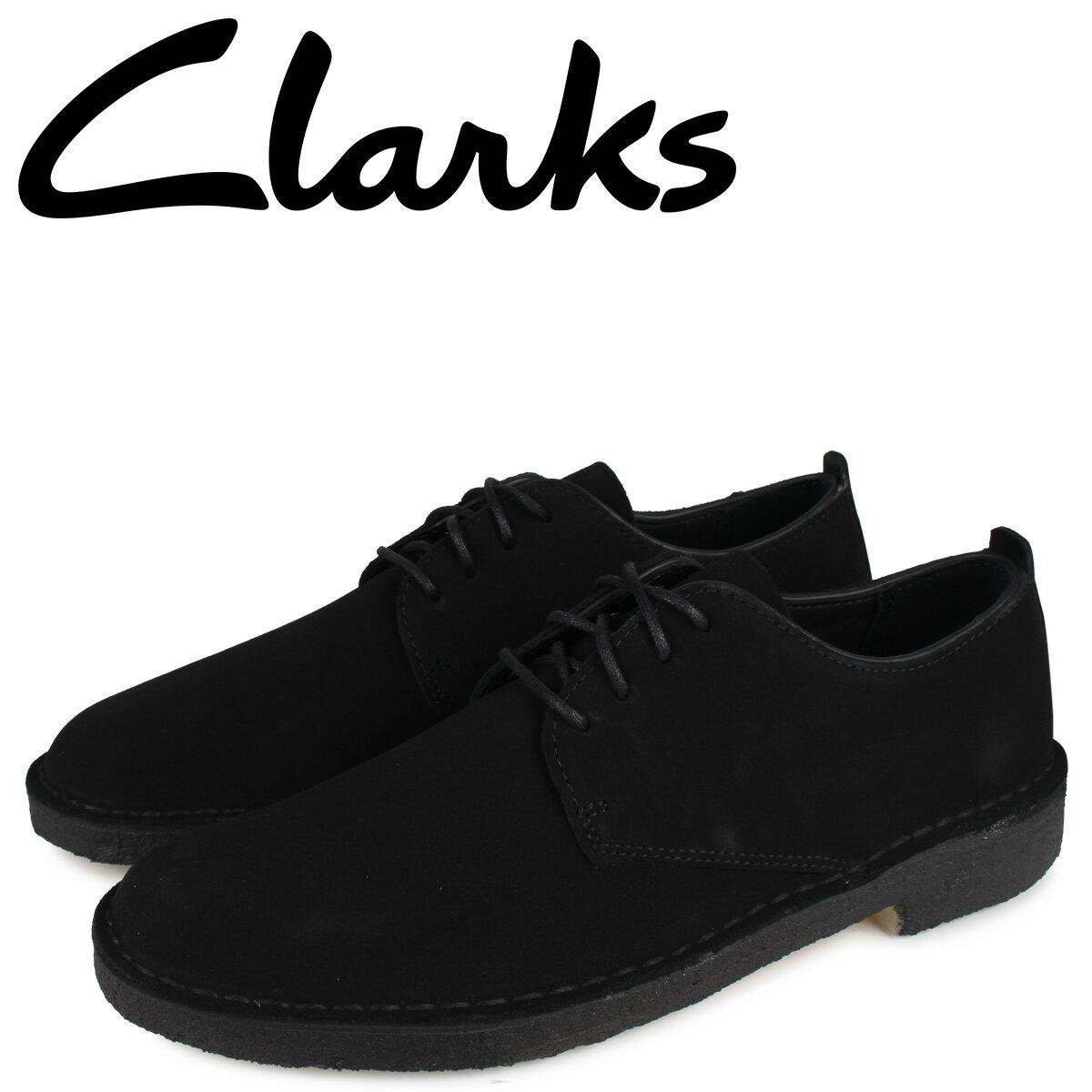 クラークス CLARKS デザート ロンドン シューズ メンズ DESERT LONDON ブラック 黒 26107883 [10月 新入荷]
