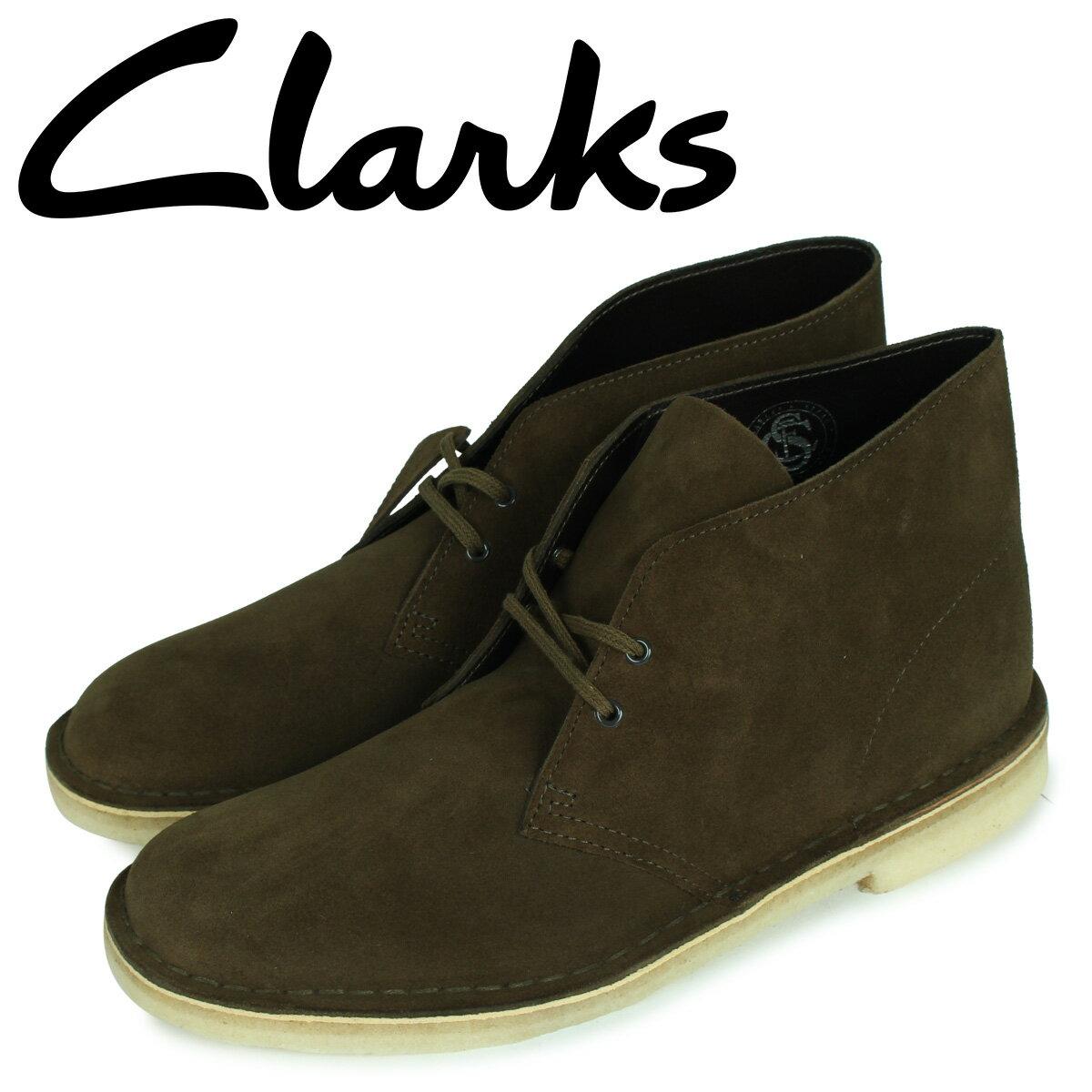 クラークス CLARKS デザート ブーツ メンズ DESERT BOOT ダーク オリーブ 26147292 [10月 新入荷]