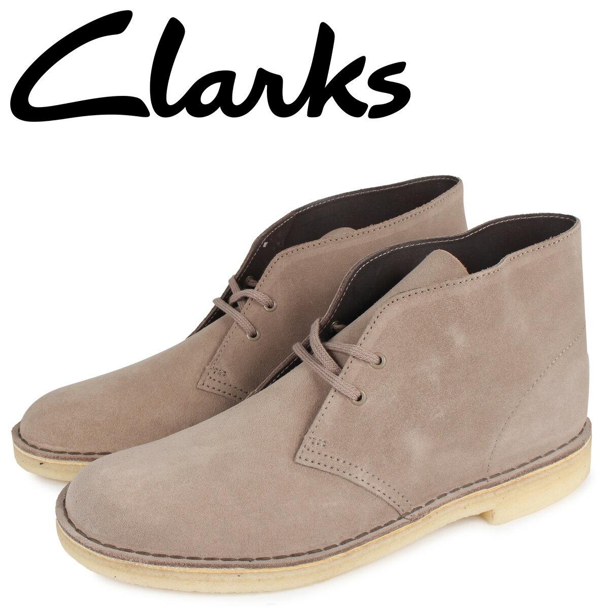 クラークス CLARKS デザート ブーツ メンズ DESERT BOOT ベージュ 26147294 [10月 新入荷]