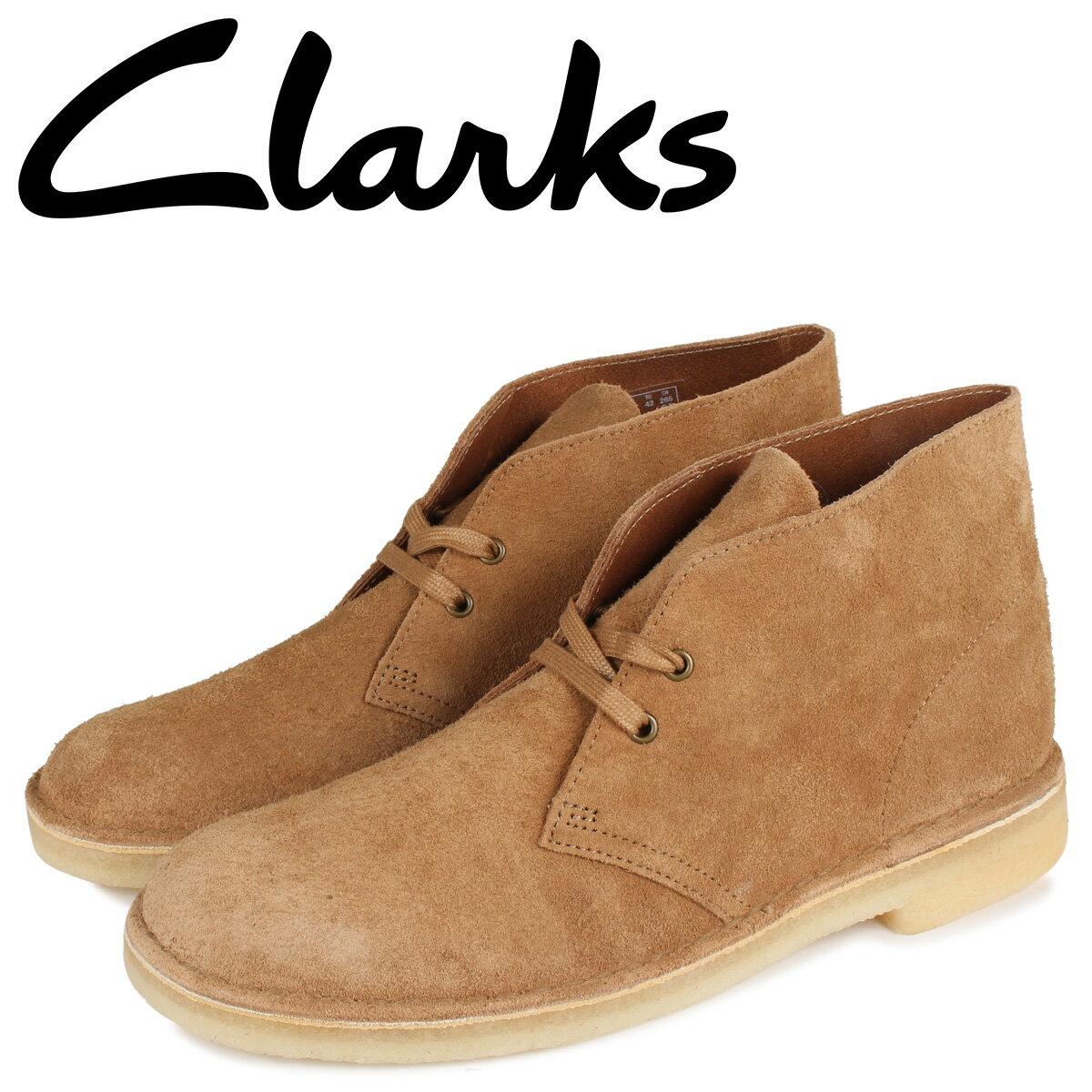 クラークス CLARKS デザート ブーツ メンズ DESERT BOOT ブラウン 26154727 [10月 新入荷]