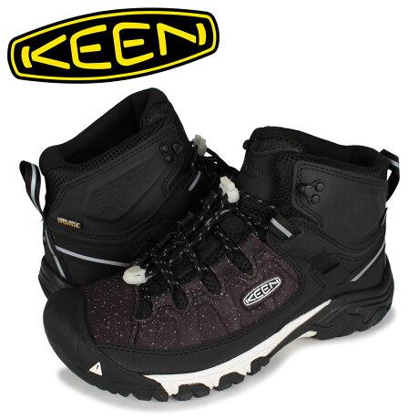 キーン KEEN ブーツ トレッキングブーツ ハイキングシューズ ターギー EXP ミッド メンズ 防水 TARGHEE EXP MID WP ブラック 黒 1023477 [予約 1月下旬 新入荷予定]