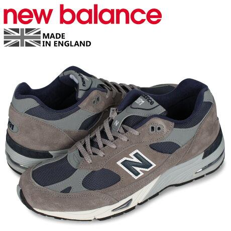 ニューバランス new balance スニーカー メンズ MADE IN UK Dワイズ グレー M991ANG [予約 1月下旬 新入荷予定]