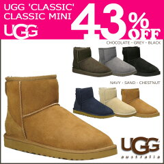 ★ 43%OFF ★★ 送料無料 ★アグ UGG 正規 SALE 通販 2013 FALL 新作≪予約商品≫≪10/10頃 入荷予定≫★ 43%OFF ★ 送料無料 UGG アグ クラシック ミニ ムートンブーツ [ 6カラー ]