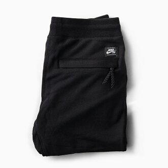 NIKE SB EVERETT PANTS[80萬零172-010 BLACK]耐吉S B聖夜讓褲子人褲子人運動衫運動衫褲子長褲子法式特裏黑色黑