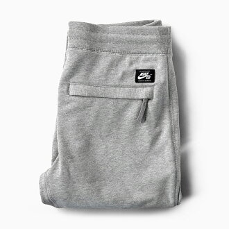 NIKE SB EVERETT PANTS[80萬零172-063 DARK GREY HEATHER]耐吉S B聖夜讓褲子人褲子人運動衫運動衫褲子長褲子法式特裏深灰色希瑟灰色灰