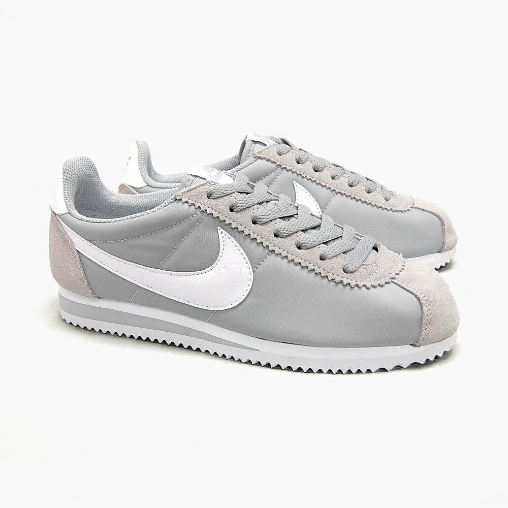 Grey Nike Cortez Nylon