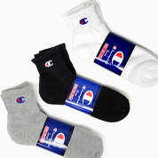 CHAMPION3P�ե�ѥ��륯����������󥰥����å���[CMSCH202WHITEBLACKGREY]MEN'SSOCKS�ۥ磻�ȥ֥�å����졼�?��������ˡ��������å������硼�ȥ��å�������֤�
