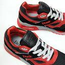 【返品交換不可】ETONIC エトニック メンズ スニーカー STABLE BASE ステイブル ベース [EMLJ17-08-119 BLACK/RED] 復刻 ランニング シューズ ブラック レッド 黒赤 レトロ アメリカ 靴 90年代 あす楽 プレゼント 2