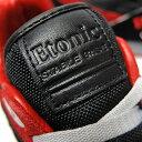 【返品交換不可】ETONIC エトニック メンズ スニーカー STABLE BASE ステイブル ベース [EMLJ17-08-119 BLACK/RED] 復刻 ランニング シューズ ブラック レッド 黒赤 レトロ アメリカ 靴 90年代 あす楽 プレゼント 3