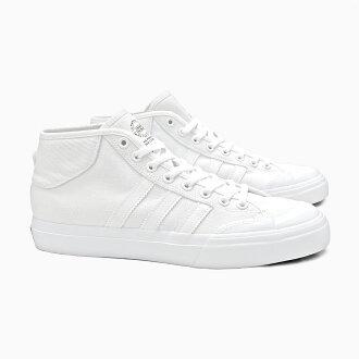 ADIDAS愛迪達運動鞋溜冰鞋人MATCHCOURT MID F37702 WHITE ADIDAS SKATEBOARDING白白suketobodoshuzusukeshu MATCH COURT SKATE BOARDING溜冰登機中間cut高cut SB MEN'S鞋