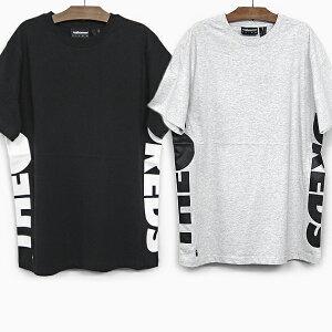 ザハンドレッズ 半袖 Tシャツ THE HUNDREDS SIDEWAYS SS T-SHIRT T18S209002 ブラック グレー BAR LOGO バーロゴ ライン ティーシャツ 黒 トップス プレゼント