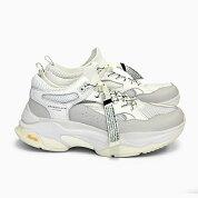 ブランドブラックメンズレディーススニーカーサガBRANDBLACKSAGA[WHITE426BB-WHT]白ホワイトオールホワイト靴ダッドスニーカー