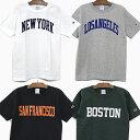 【全品クーポン対象】チャンピオン 半袖 Tシャツ CHAMPION T1011 US シティー 4カラー 19SS 春夏 新作 MADE IN USA C5-P302