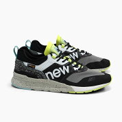 ニューバランスメンズスニーカーNEWBALANCECMT997HDBLACKブラック黒グリーン緑2020春夏新作NEWBALANCEMEN'Sメンズトレイルランニングシューズ靴ナイロンメッシュ