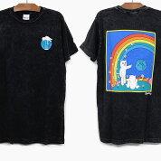 RIPNDIPリップンディップTシャツ半袖EARTHGAZINGSHORTSLEEVETEE[BLACKMINERALWASH]メンズレディースRIPNDIPプリントTシャツ黒スケートボードストリートブランド猫