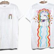 RIPNDIPリップンディップTシャツ半袖GROOVYNERMSHORTSLEEVETEE[WHITE]メンズレディースRIPNDIPプリントTシャツ白スケートボードストリートブランド猫