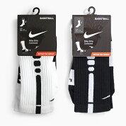 NIKEELITEBASKETBALLCREWSOCKS[SX3629107WHITE/BLACK/BLACK007BLACK/WHITE/WHITE]ナイキエリートバスケットボールクルーソックスメンズ靴下スポーツストリート