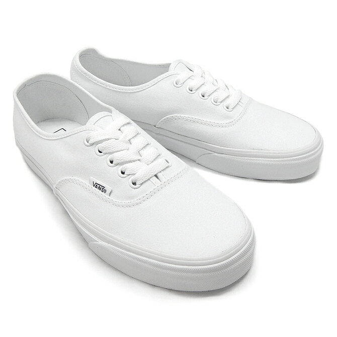 true white authentic vans sale