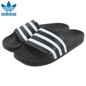 アディダス adidas ADILETTE アディレッタ ブラック/ホワイト/ブラック 280647