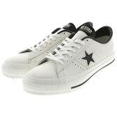 定番 CONVERSE ONE STAR コンバース ワンスター J ホワイト/ブラック メンズ レディース スニーカー