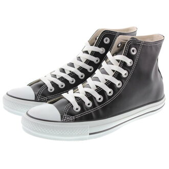 CONVERSE combo - r leather ALL STAR all star HI Black fs3gm