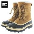10%OFF 定番 レディース ソレル SOREL ブーツ CARIBOU カリブー バフ NL1005-280