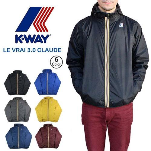 K-WAY ケーウェイ LE VRAI 3.0 CLAUDE K004BD0 [WA]