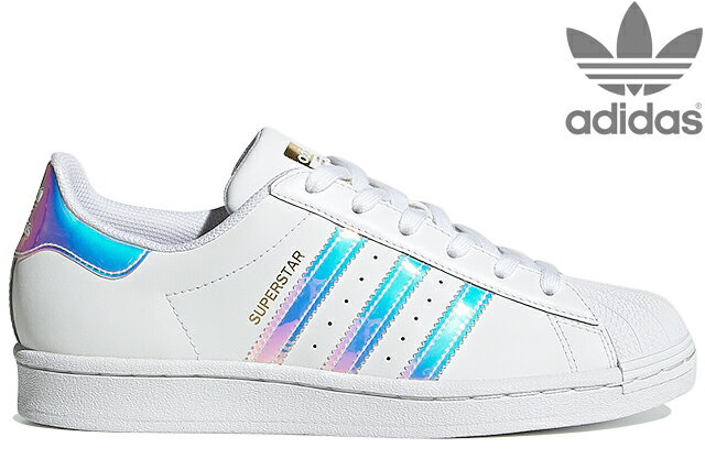 レディース靴, スニーカー adidas Originals SUPERSTAR W FX7565 FOOTWEAR WHITEGOLD METALLICCORE BLACK