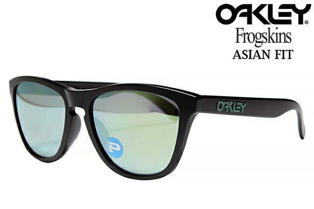 d0c71b41a86  楽天市場 OAKLEY FROGSKINS SUNGLASSES ASIAN FIT OO9245-43 ... Oakley Event  Sponsorship Oakley Frogskins Matte Black w  Emerald Iridium Polarized .